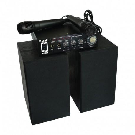 karaoke masin mikrofoniga MSonic MI3168BK