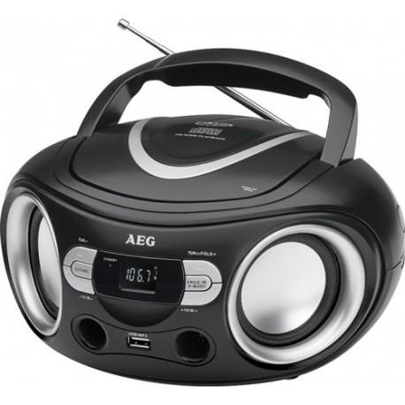 raadio SR4374B must AEG