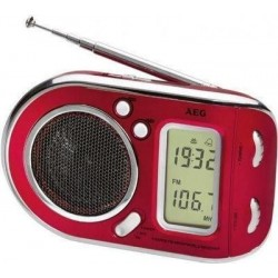 raadio WE4125P punane AEG